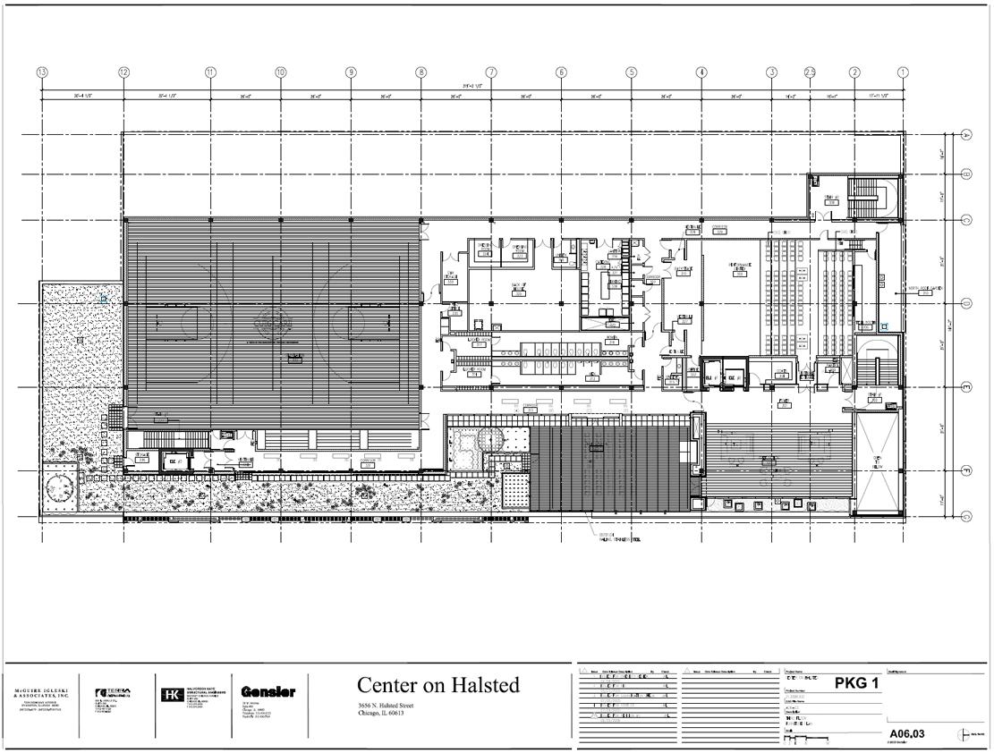 Center On Halsted Third Floor Plan